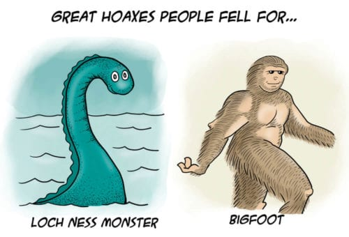 Great hoaxes people fell for…