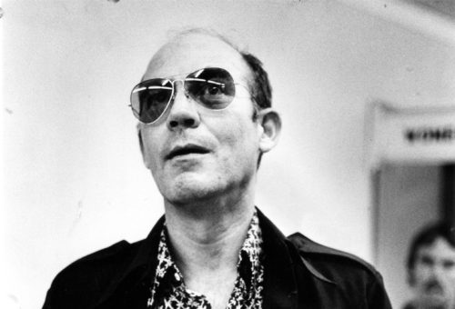 Hunter S. Thompson's HUSTLER Moment