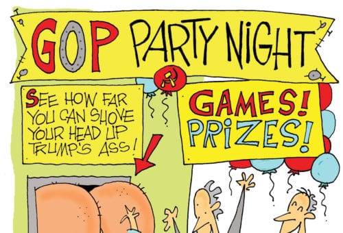 GOP Party Night