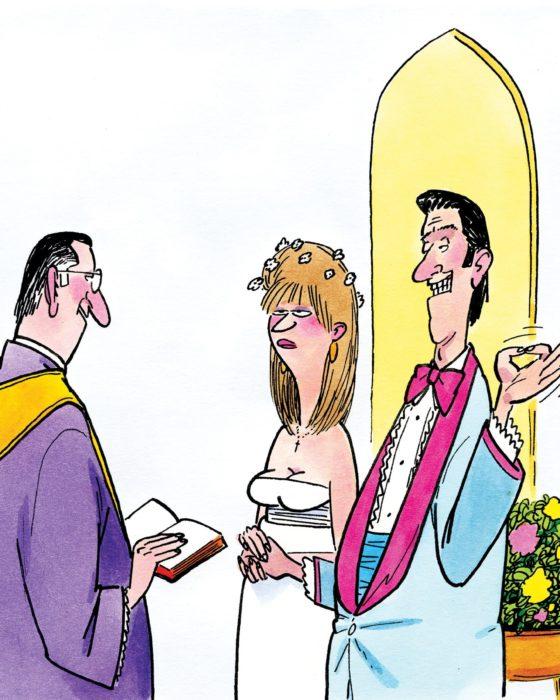 Friday Funnies: Awfully Wedded