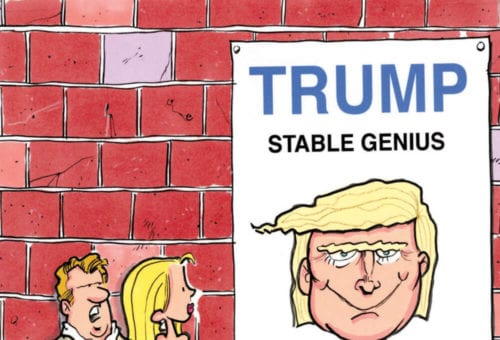 Donald Trump isn't a genius. However…