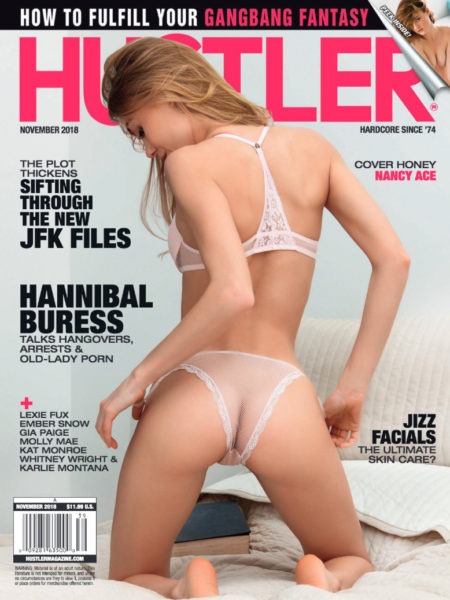 HUSTLER Magazine November 2018 cover