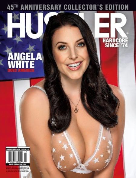 HUSTLER Magazine Anniversary 2019 cover