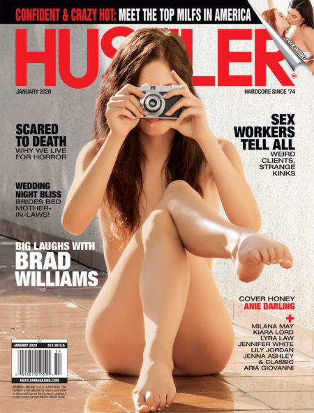 HUSTLER Magazine January 2020 cover