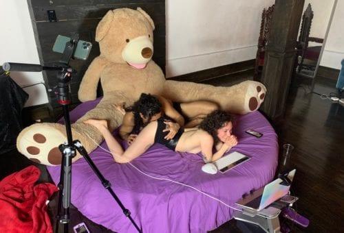 My First Virtual Orgy