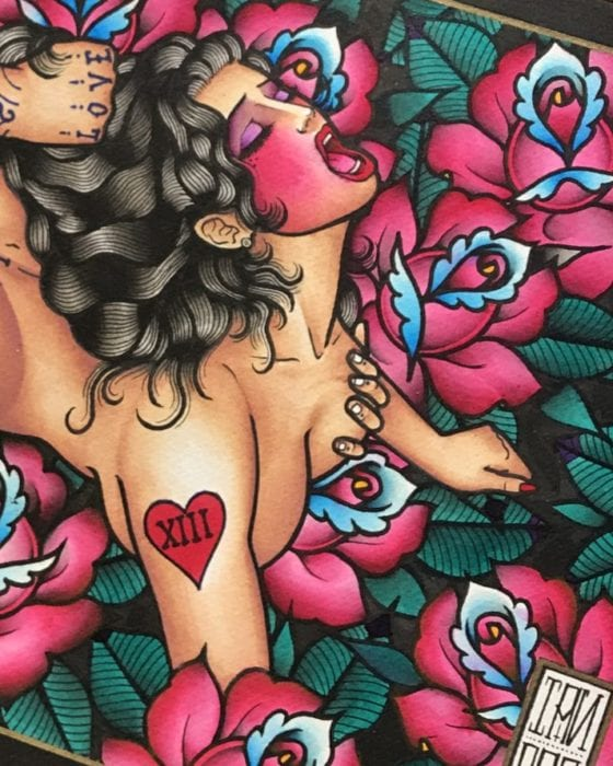Ian Parkin: The Tattoo King of Kinky Ink