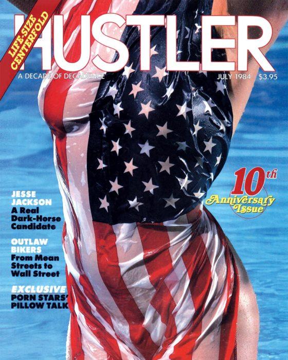 HUSTLER July 1984 Cover