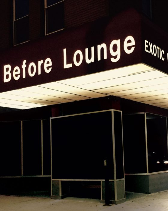 Kurt Vonnegut Visits a Strip Club