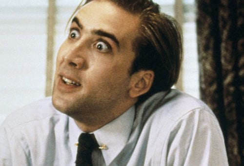 Nicolas Cage Noshes on What?