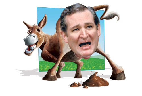 Asshole of the Month: Ted Cruz