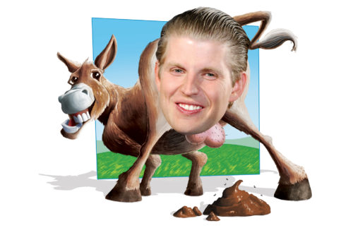 Asshole of the Month: Eric Trump