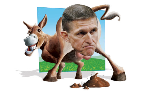 Asshole of the Month: Michael Flynn