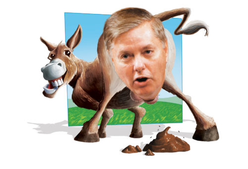 Asshole of the Month: Lindsey Graham