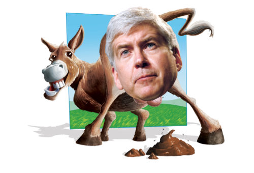Asshole of the Month: Rick Snyder