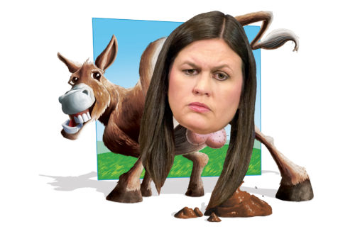 Asshole of the Month: Sarah Huckabee Sanders