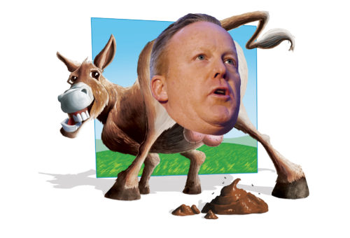 Asshole of the Month: Sean Spicer