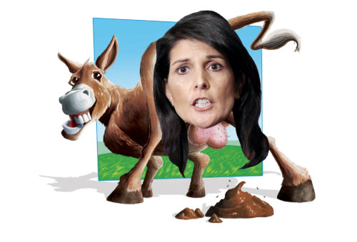 Asshole of the Month: Nikki Haley