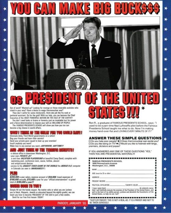 HUSTLER Classic: Schooling the President