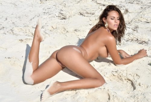 Bare-Ass Beach Babes: Hot HUSTLER Honeys Make Serious Waves