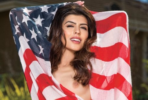Red, White and 'Oooh!': HUSTLER's Sex-Drenched Patriotism