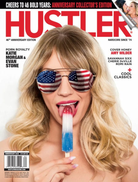 HUSTLER Magazine Anniversary 2020 cover