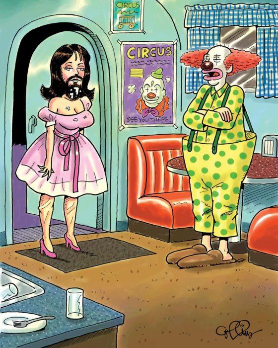 Friday Funnies: Clowning Around