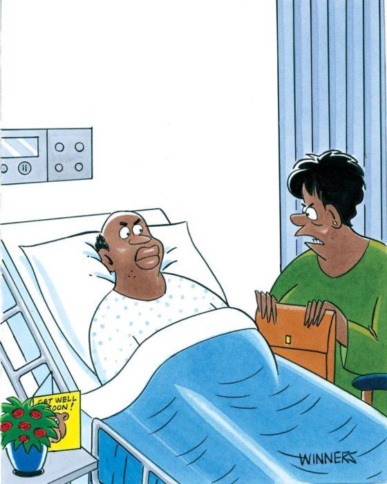 Friday Funnies: Sick Jokes for Sick Folks