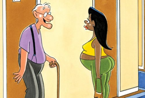 Friday Funnies: A Pregnant Pause for Humor