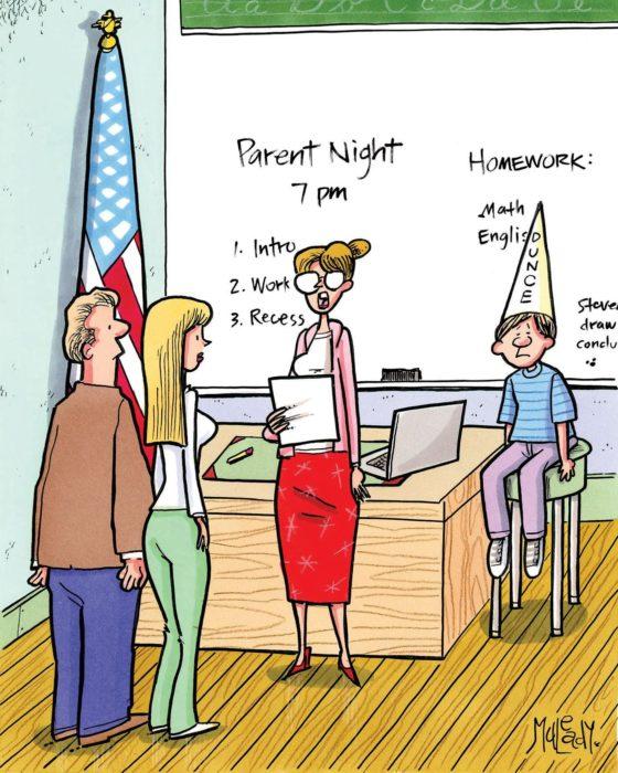 Friday Funnies: Getting Schooled