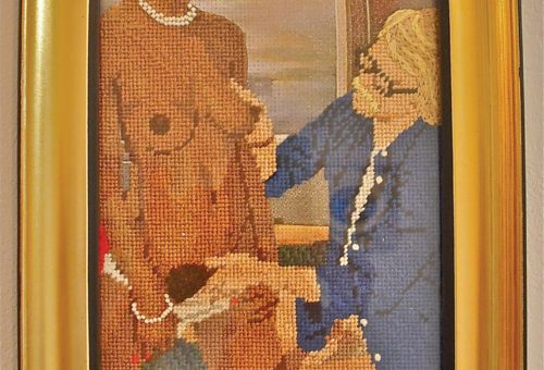 This Ain't Your Grandma's Needlepoint