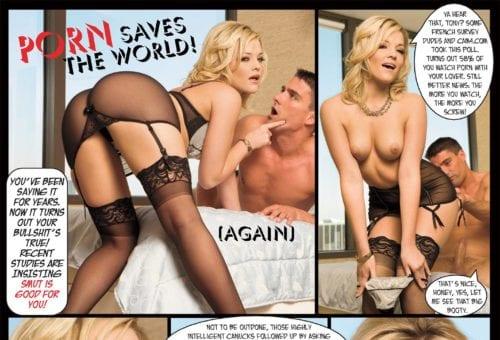Porn Saves the World!