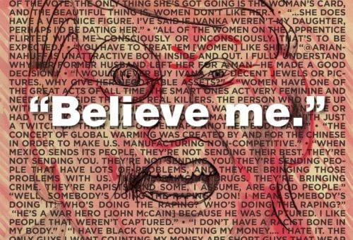 """Believe me."""