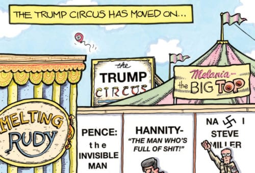 The Trump Circus has moved on…
