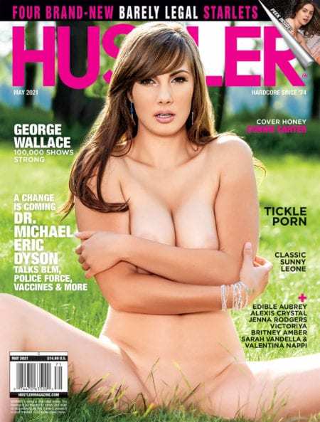 HUSTLER Magazine May 2021 cover