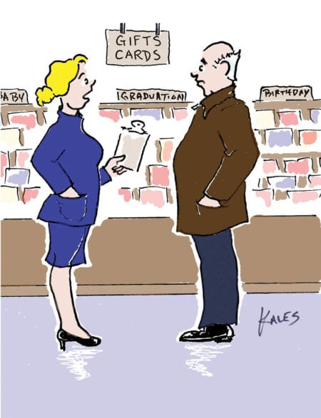 We carry every card under the sun…