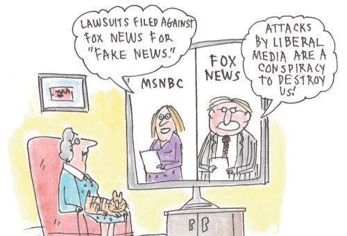 """Lawsuits filed against Fox News for """"Fake News"""""""