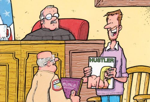 Friday Funnies: Here Comes the Judge!