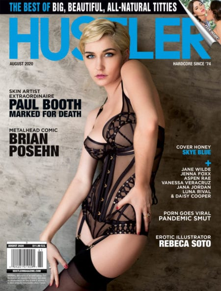 Latest HUSTLER Magazine cover issue