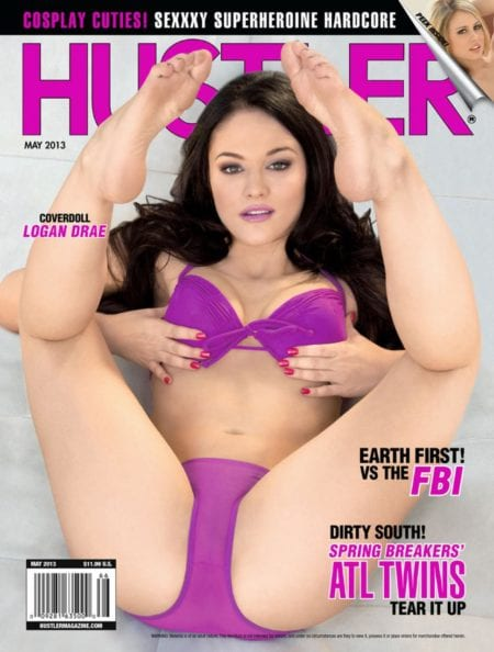 HUSTLER Magazine May 2013 cover