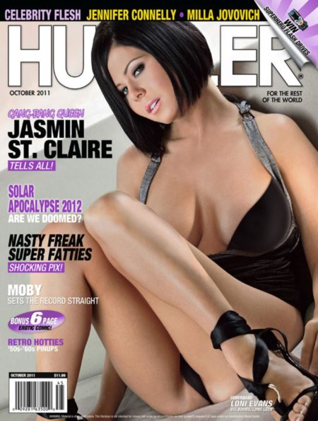 HUSTLER Magazine October 2011 cover