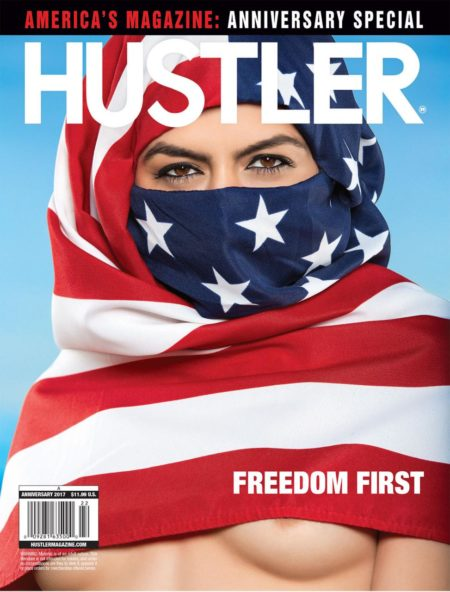 HUSTLER Magazine Anniversary 2017 cover