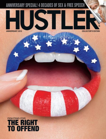 HUSTLER Magazine Anniversary 2015 cover