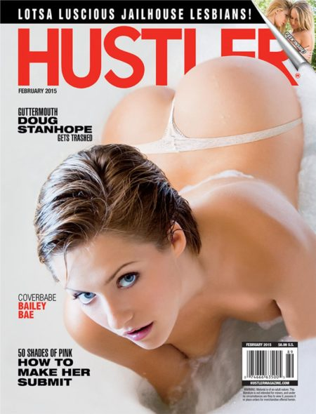 HUSTLER Magazine February 2015 cover