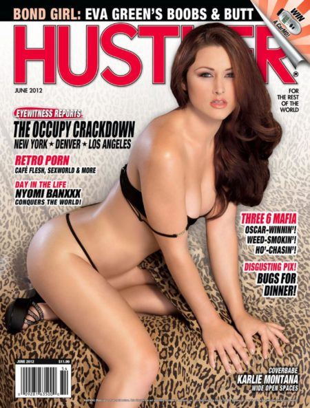 HUSTLER Magazine June 2012 cover
