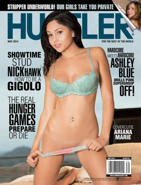 HUSTLER Magazine May 2014 cover