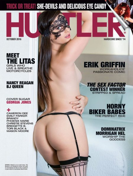 HUSTLER Magazine October 2016 cover