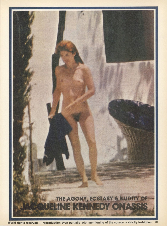 The Truth Behind Jackie O's Nude Photos